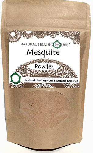 Natural Healing House Organic Raw Sweet Mesquite Powder 6 oz Mesquite Flour