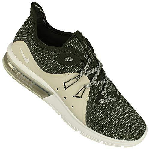 Chaussures 3 Wmns metallic Nike De Air Bone Silver light Femme Compétition Max Sequoia Running Sequent 4fTIfXq