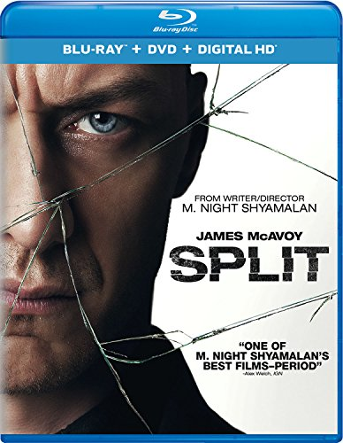 Blu-ray : Split (With DVD, Ultraviolet Digital Copy, Digitally Mastered in HD, Digital Copy, 2 Pack)