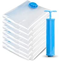 Reusable Storage Bags Seal Leak Prevention Valve Durable Duty Strong Vacum Compressed Space Saver Bags