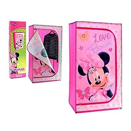 De Minnie Mouse de Disney para niños/armario de tela tamaño grande mueble para tela