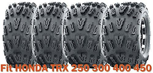 (21x7-10 & 20x10-9 Sport ATV Tire Set for HONDA TRX 250 300 400 450)