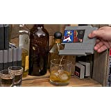 """NES look-a-like Concealable Entertainment Flask """"Legend of Drink"""" - Flask"""