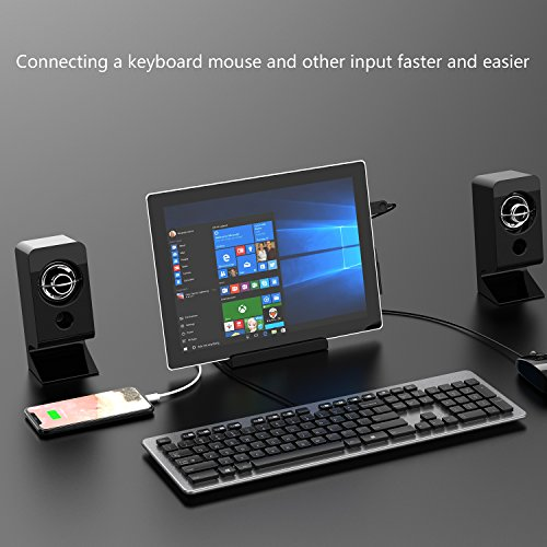 GOOQ Microsoft Surface Dock, Laptop Docking Station Charger Stand for Microsoft Surface Pro 3/Pro 4 by GOOQ (Image #3)'