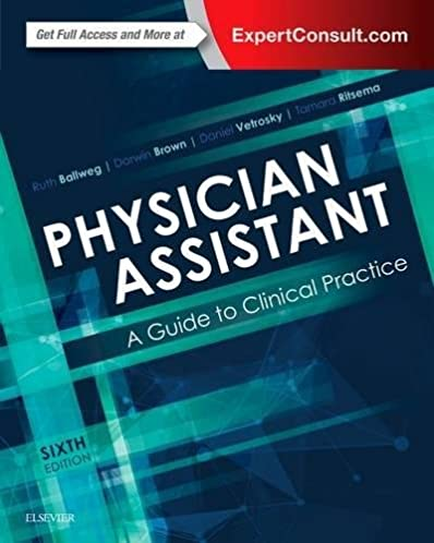 physician assistant a guide to clinical practice 9780323401128 rh amazon com Clinical Documentation Improvement Template Clinical Documentation Clip Art