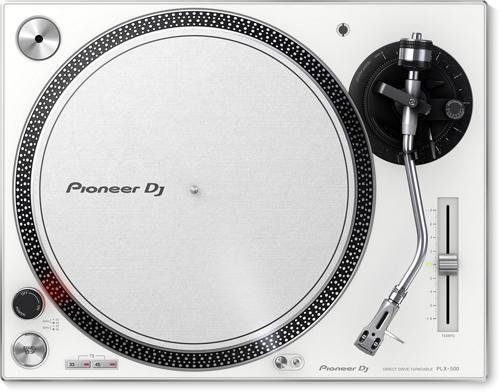 Buy Discount Pioneer DJ PLX-500-W Direct Drive DJ Turntable, White