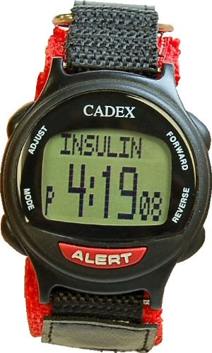 e-pill CADEX Pediatric 12 Alarm Medication Reminder Watch & Electronic Medical Alert by e-pill Medication Reminders