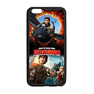 """FEEL.Q- How to Train Your Dragon Toothless Personalized Protective Case for iPhone 6 Plus (5.5"""") TPU Rubber Phone Cases"""