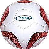 Bola de Futebol de Campo Xalingo Branco/Vermelha