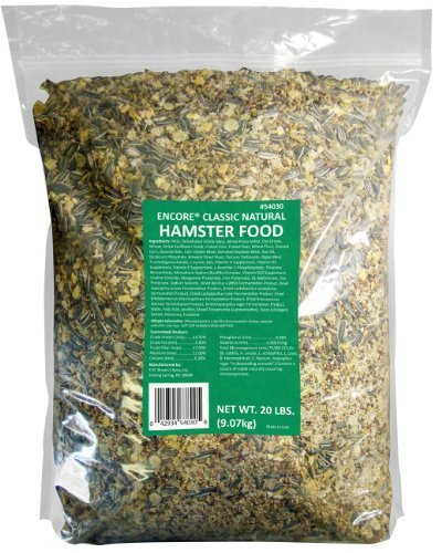 F.M.BROWN'S Classic Natural Hamster Food, 20-Pound by F.M. Brown's