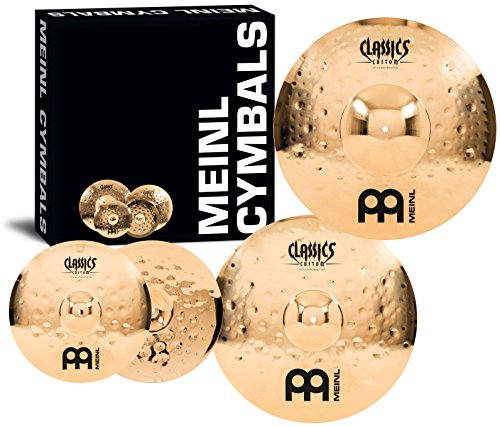 Meinl Cymbals CC-EM480 Classics Custom Extreme Metal Cymbal Box Set Pack with 14
