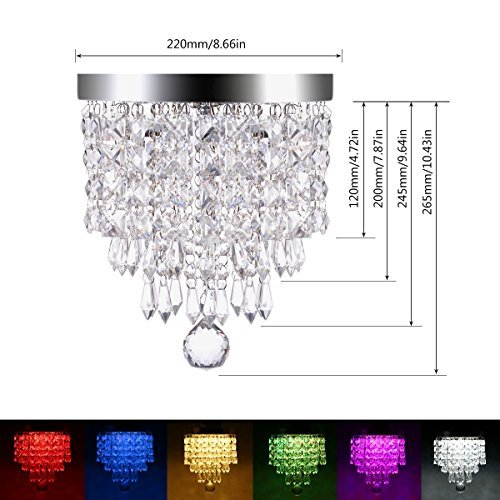 Multi Color Led Light Fixtures