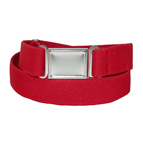 CTM Kids Elastic Stretch Adjustable Belt with Magnetic Buckle