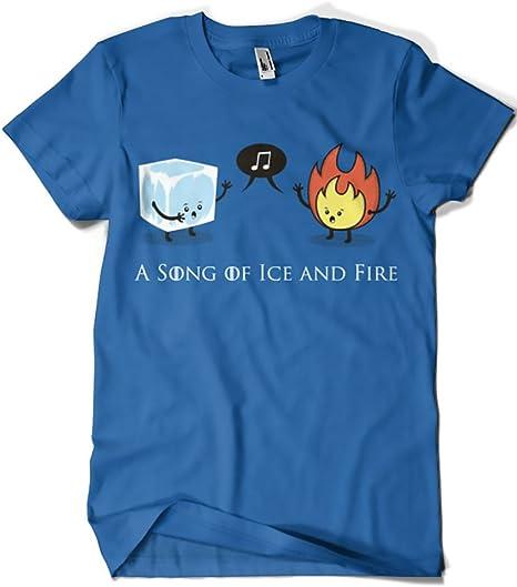 629-Camiseta Juego De Tronos - A Song of Ice and Fire (Typoonic): Amazon.es: Ropa y accesorios