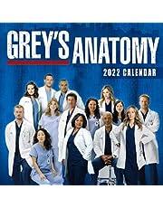 Grey's Anatomy Calendar 2022: 2021-2022 Calendar planner - 18 months - movie tv series films Gifts boys girls kids and all Fans