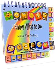 Thought-Spot I Know What to Do Feeling/Moods Book; Different Moods/Emotions; Autism; ADHD; Helps Kids Identify Feelings and Make Positive Choices; Laminated