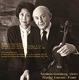 TBRCD0037/0038 シモン・ゴールドベルク 山根美代子ヴァイオリン・リサイタル