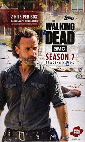 2017 Topps 'The Walking Dead' Season 7 HOBBY Trading Card box (Trading Hobby Card)
