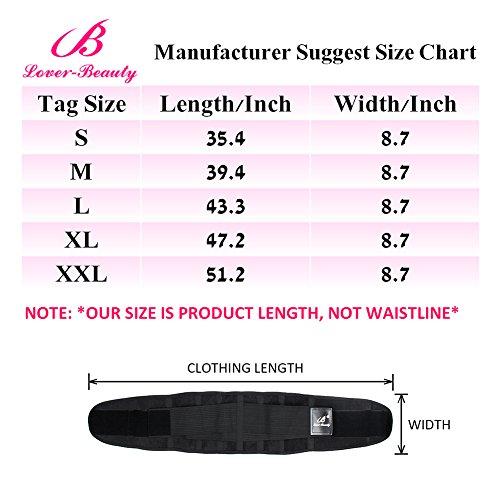 Lover Beauty Women's Waist Trainer Belt Body Shaper Belt For Hourglass Shaper