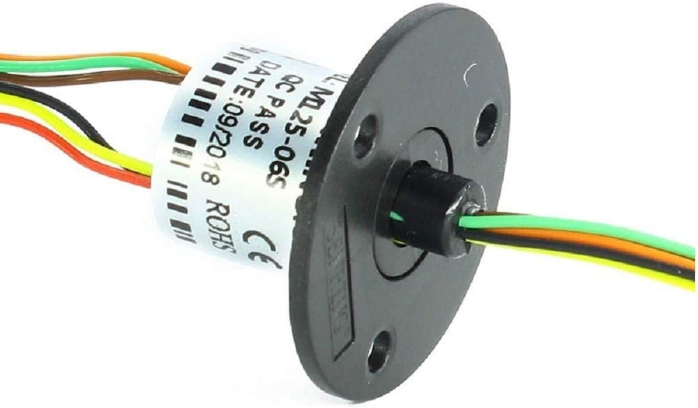 JINPAT Gold-Plated Capsule Slip Ring with Low Electrical Noise and No Lubrication for Security Monitoring