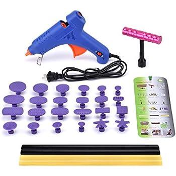 Amazon Com Hotpdr Dent Repair Dent Puller Kit Mini T Bar