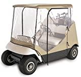 Classic Accessories Fairway Golf Cart Enclosure Travel 4-Sided