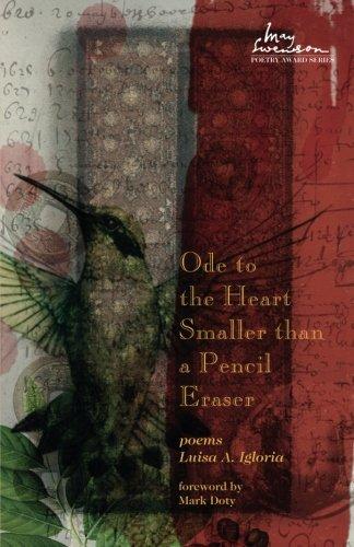 Award Eraser - Ode to the Heart Smaller than a Pencil Eraser (Swenson Poetry Award)