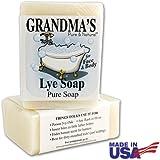 Grandma's Lye Soap 6 Ounces (Pack of 2)
