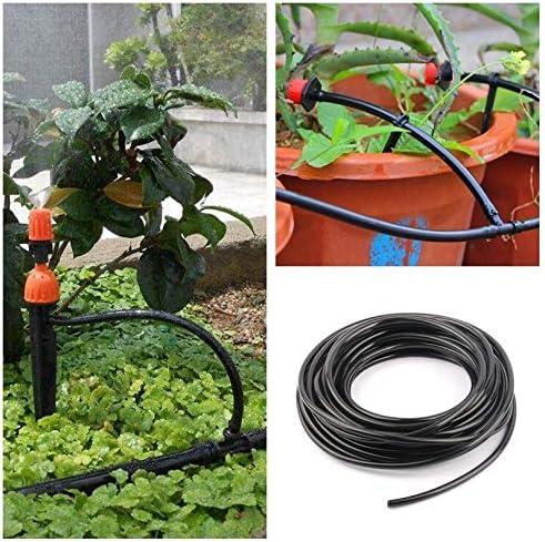 Bureze Sourcingmap - Manguera de riego para jardín (5 m, 4/7 mm, Resistente al Desgaste, antiabrasión, Manguera de riego por Goteo): Amazon.es: Jardín