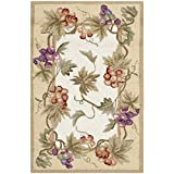 Safavieh Chelsea Collection HK116A Hand-Hooked Ivory Premium Wool Area Rug (1'8″ x 2'6″) Review