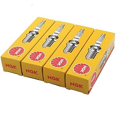 NGK (7938) BKR5E Spark Plug - Pack of 4: Automotive