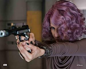 Star Wars Authentics: Laura Dern as Vice Admiral Holdo in 'Star Wars: The Last Jedi 16x20' Official Photo