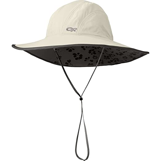 49ea3b27fcdd8 Image Unavailable. Image not available for. Color  Outdoor Research Women s  Oasis Sun Sombrero ...