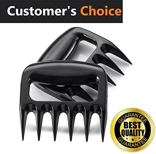 IKAXA The Original Shredder Claws - Meat Claws - Meat Shredder - Easily Lift, Handle, Shred, and Cut Meats - Essential for BBQ Pros - Ultra-Sharp Blades and Heat Resistant Nylon by IKAXA