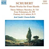 Schubert: Piano Works for 4 Hands / Three Military Marches