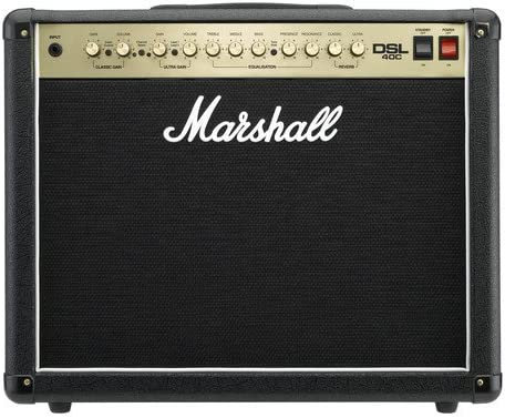 Marshall DSL Series DSL40C 40 Watt Valve 2 Channel Guitar Amplifier Combo: Amazon.co.uk: Musical Instruments