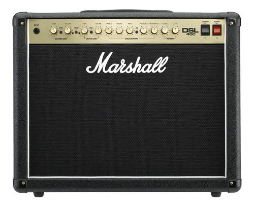 Marshall DSL Series DSL40C 40 Watt Valve 2 Channel Guitar Amplifier (Tube Guitar Combo Amplifier)
