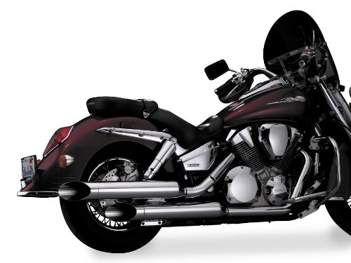 National Cycle Peacemakers Exhaust Metric Cruisers for Honda 2004-2007 VTX1300C - One Size