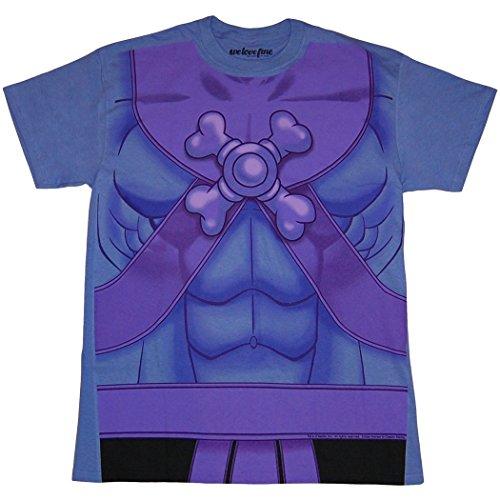 Skeletor Costume Medium (Master of the Universe Skeletor Costume T-Shirt-Medium)