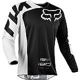 Fox Racing 180 Race Men's Off-Road Jersey - Black/Medium
