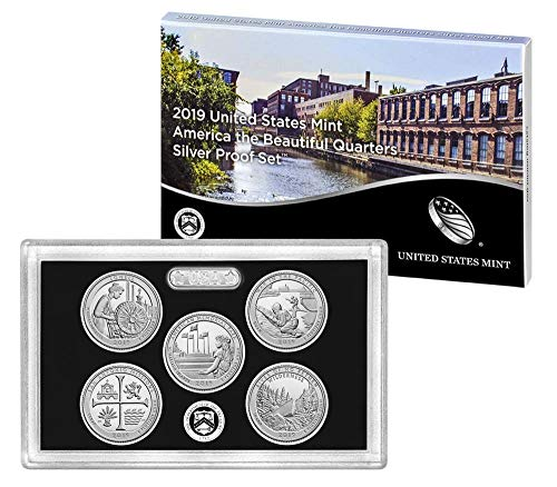 2019 S America the Beautiful Silver Quarters -