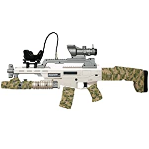 BeswinVR 2019 New ScarVR Rifle Vive Gun controller with Recoil Feedback for Virtual Reality game- Compatible with HTC Vive Pro 2.0,1.0| Valve Index| Pimax 5K 8K VR Headset (Trademark Protected)