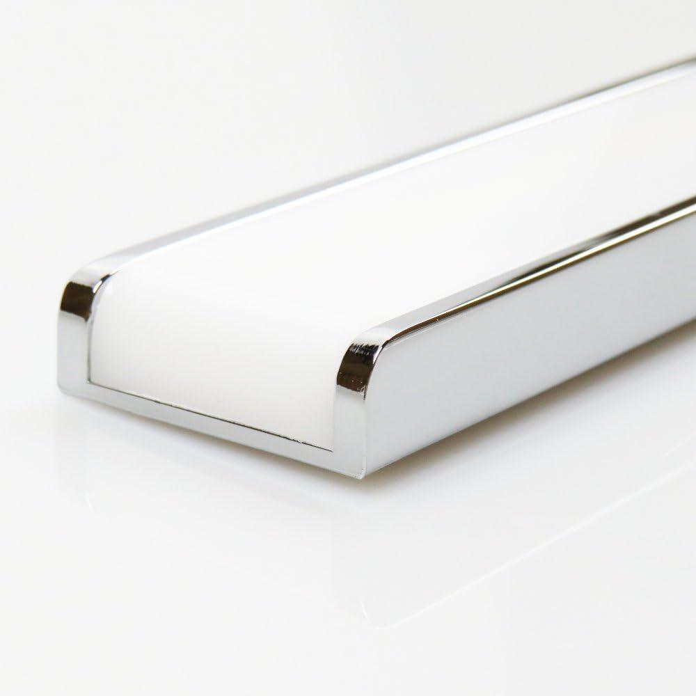 LED 3 Farben in 1 Badleuchte Badlampe Spiegellampe Spiegelleuchte 230V, Länge:300mm 450mm