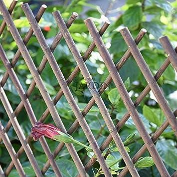 Celosía de Mimbre para jardín. Seto artificial extensible. (50 x 150 cm): Amazon.es: Bricolaje y herramientas