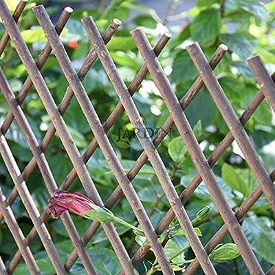 Celosía de Mimbre para jardín. Seto artificial extensible. (100 x 200 cm): Amazon.es: Bricolaje y herramientas