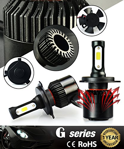 JDM ASTAR 7TH Generation All IN ONE 3000 Lumens Cree XHP50 LED Headlight With 5 Different Color 3000K 4300K 6500K 8000K 10000K Available 2 Yr WarrantyTotal Output 6000 Lumens