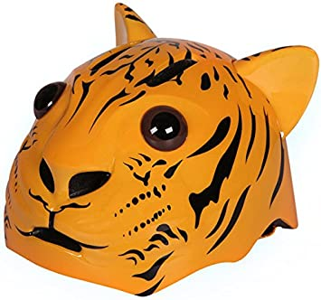 Cango Childrens multi-sports 3d tigre cascos (apto para las edades 3 +)