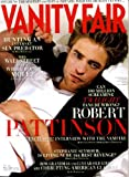 Vanity Fair December 2009 Robert Pattinson/Twilight on Cover, Richard Avedon, Stephanie Seymour Living Nude, Malcolm Gladwell Explains Christmas, Liz Kabler/Sculptor, Second City, Steig Larsson, The Addams Family on Broadway