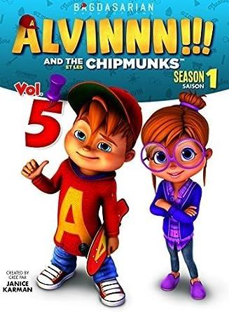 Amazon Com Alvin The Chipmunks Season1 Vol 5 Janice Karman