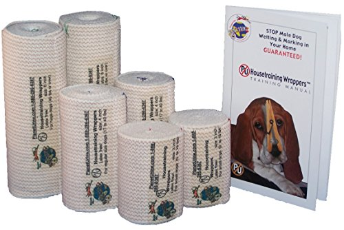 PU Housetraining Wrapper Belly Bands (Small-Size Dogs (0-16 lbs))